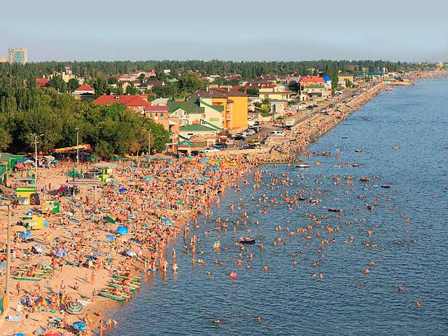 Бердянск: пляжи